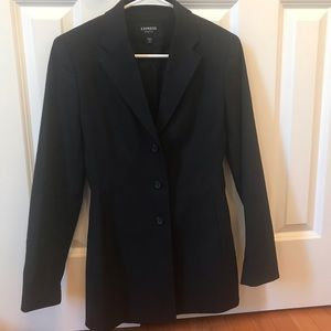 Express, Black women's suit jacket/blazer- size 0